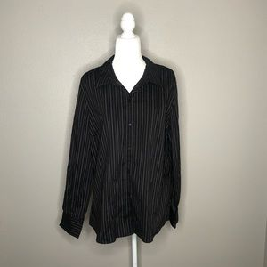 NWT Old Navy Long Sleeved Button Down Size XXL